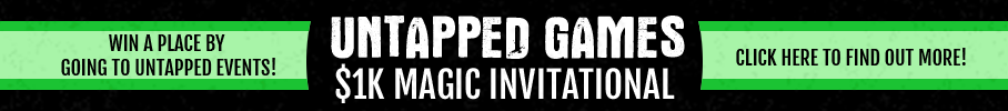 Untapped Games $1500 Invitationals - Click here to find out more!